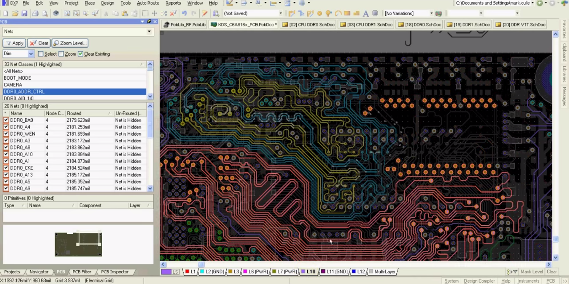 Altium Designer – DDR3 routing and PCB layout video - Welldone Blog ...