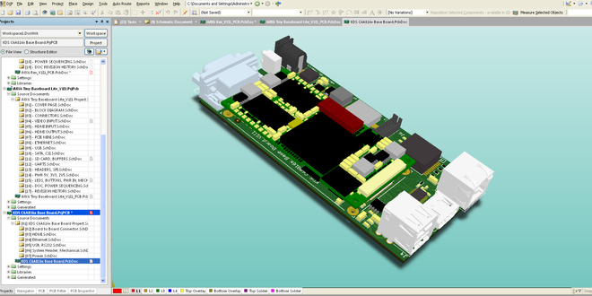 Altium designer 3d model of your pcb it 39 s really easy Online 3d design maker