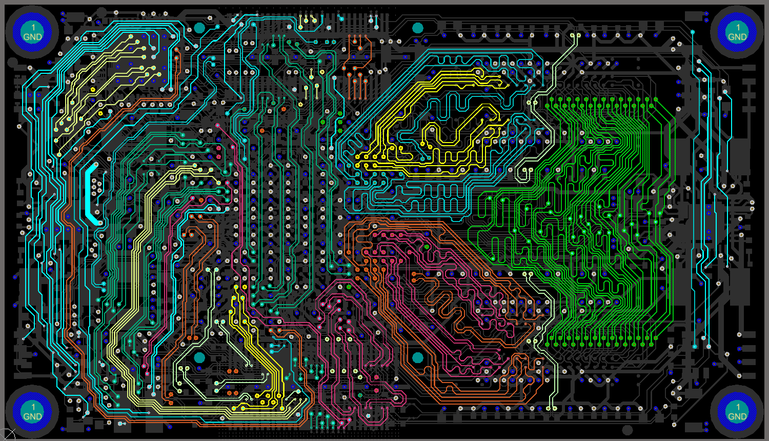 Online advanced pcb layout course by motherboard designer for Online designs
